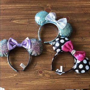 Minnie Mouse Ears Bundle